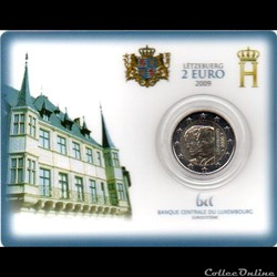 2009 : Coin card  90em anniversaire Acce...
