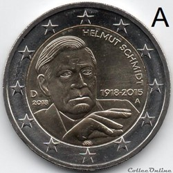 2018 : Helmut Schmidt
