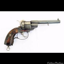 Revolver Lefaucheux transformé par Leon ...