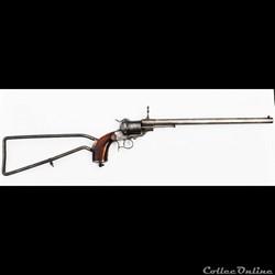 Lefaucheux Carabine Revolver Egyptien