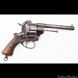 revolver Lefaucheux 12 mm à 10 coups