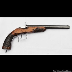 Pistolet Flobert 6 mm par Lefaucheux