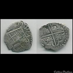 4 réales Philippe IV Mexique 1621-1665