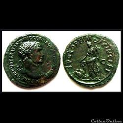 Dupondius Trajan Pax 108