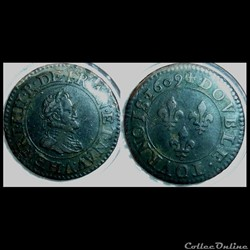 Double tournoi Henri IV 1609