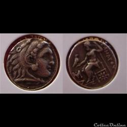 Drachme Alexandre le Grand