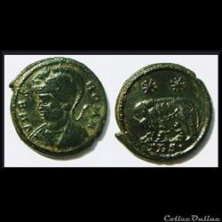 Petit bronze Constantin 1er 306-337