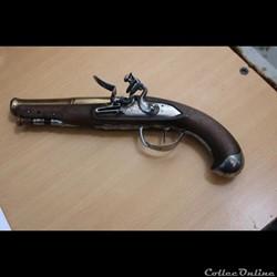 Pistolet à silex de Marine