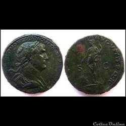 Sesterce Trajan