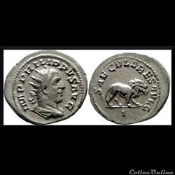 Antoninien au lion Philippe 1er 248
