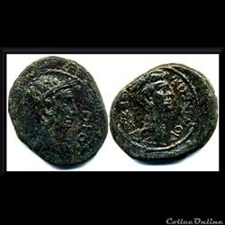 Bronze Octave et Jules César Thessaloniq...