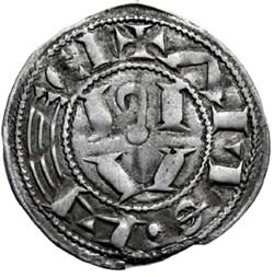Albi (vicomté d')- Denier au nom de Raym...