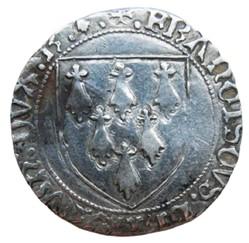 Bretagne (duché de)- François II, gros à...