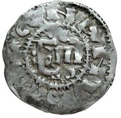 Bretagne (duché de)- Conan II, denier