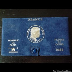 Boîte Fleur de Coins 1984 Paris F.5000/4...