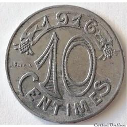 CHAMBRE DE COMMERCE DE MARSEILLE 10 Cent...