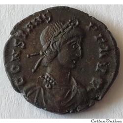 CONSTANS 1208 Centenionalis ou nummus