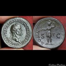 Vespasien - sesterce