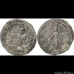 Gordien III - Antoninien - LAETITIA AVG