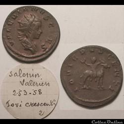 Valerien II Antoninien - IOVI CRESCENTI