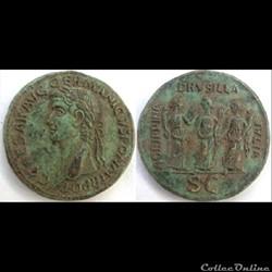Caligula - Sesterce - AGRIPPINA DRVSILLA IVLIA