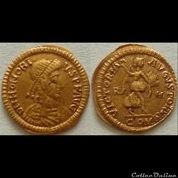 Honorius - Tremissis
