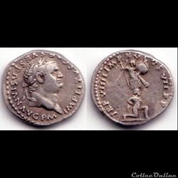 Titus  - Denier - TR P VIII IMP XV COS VII P P