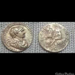 Trajan - sesterce - S P Q R OPTIMO PRINCIPI (Dacie)