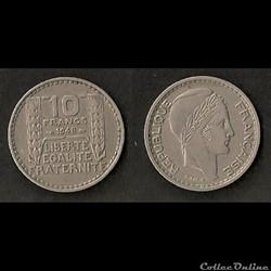 10 Francs Turin 1948