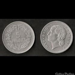 5 Francs Lavrillier 1947