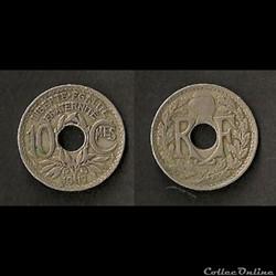 10 Cts Lindauer 1917