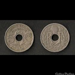 5 Centimes Lindauer 1920