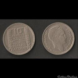 10 Francs Turin 1947 (Petite Tête)