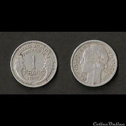 1 Franc Morlon Alu 1950