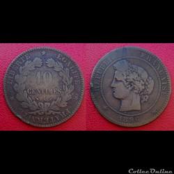 10 Cts Cérès 1896 A