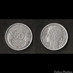 50 Cts Morlon Alu 1947