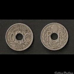 10 Cts Lindauer 1920