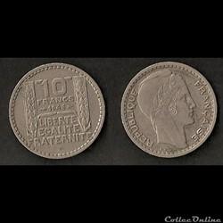 Monnaies Françaises Gouvernement Provisoire (1944-1946)