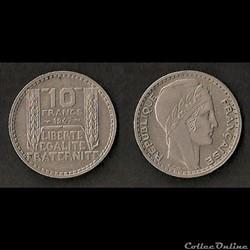 Monnaies Françaises IVème République (1946-1958)