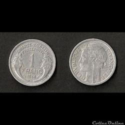 1 Franc Morlon Alu 1948