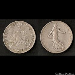 Monnaies Françaises IIIème République (1870-1940)