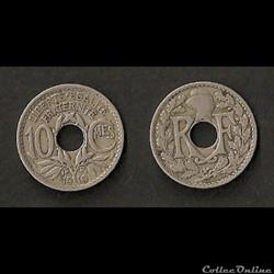 10 Cts Lindauer 1919