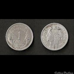 1 Franc Morlon Alu 1949 B