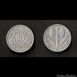 50 Cts Francisque 1944 C