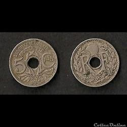 5 Centimes Lindauer 1924