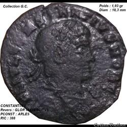 CONSTANTIN II RIC 388
