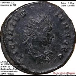 LICINIVS II Inconnue du RIC ( une dans l...