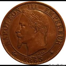 5 Centimes 1863 A