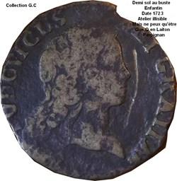 Demi sol au buste enfantin 1723 atelier ...