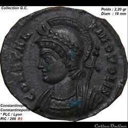 CONSTANTINOPOLIS RIC 266